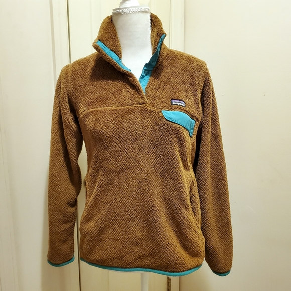 Patagonia Re Tool Snap T Fleece Pullover Sz S EUC